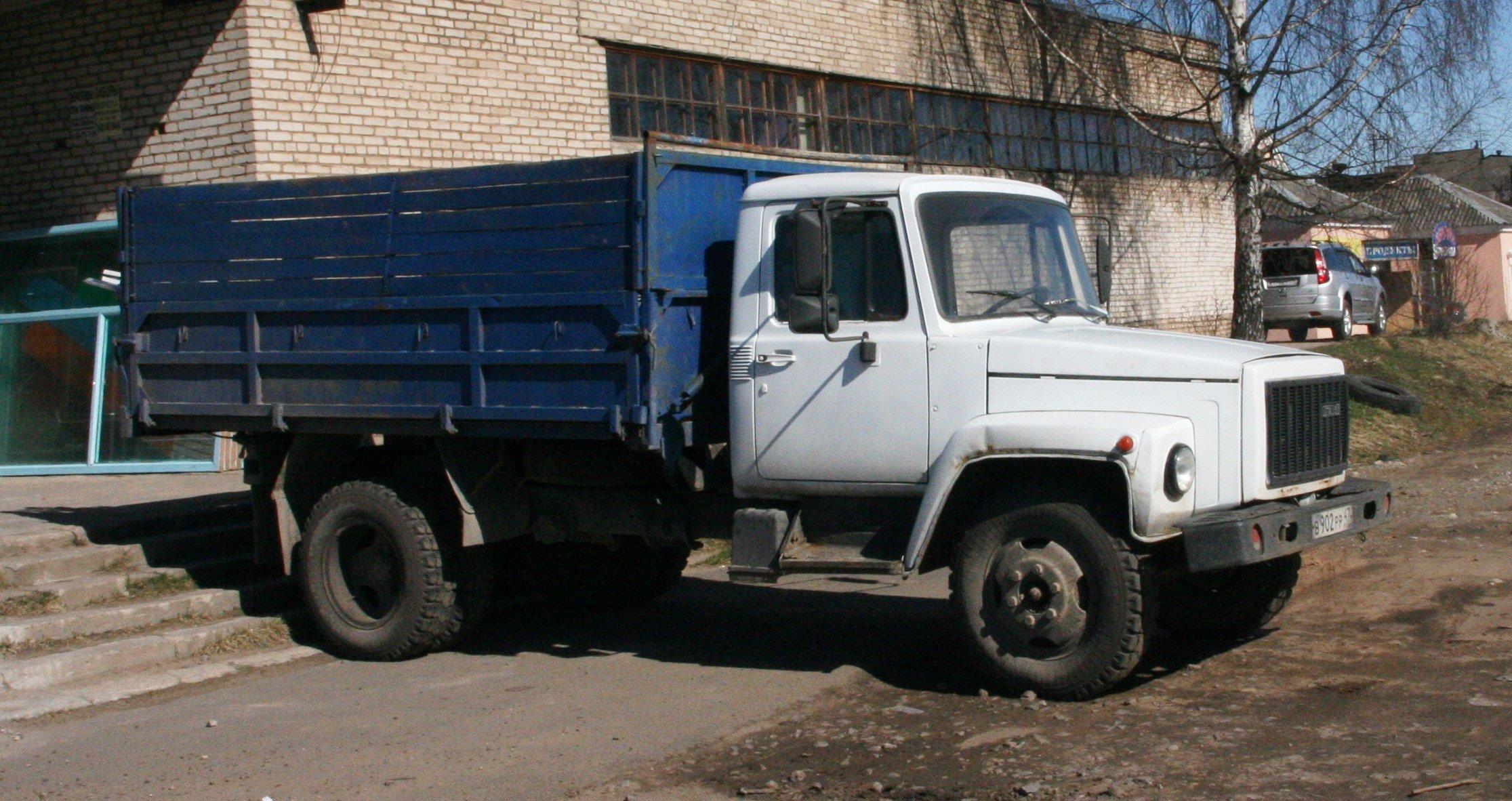 gaz-3307-pritsche