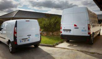 RENAULT представил водородные фургоны Renault Master и Kangoo